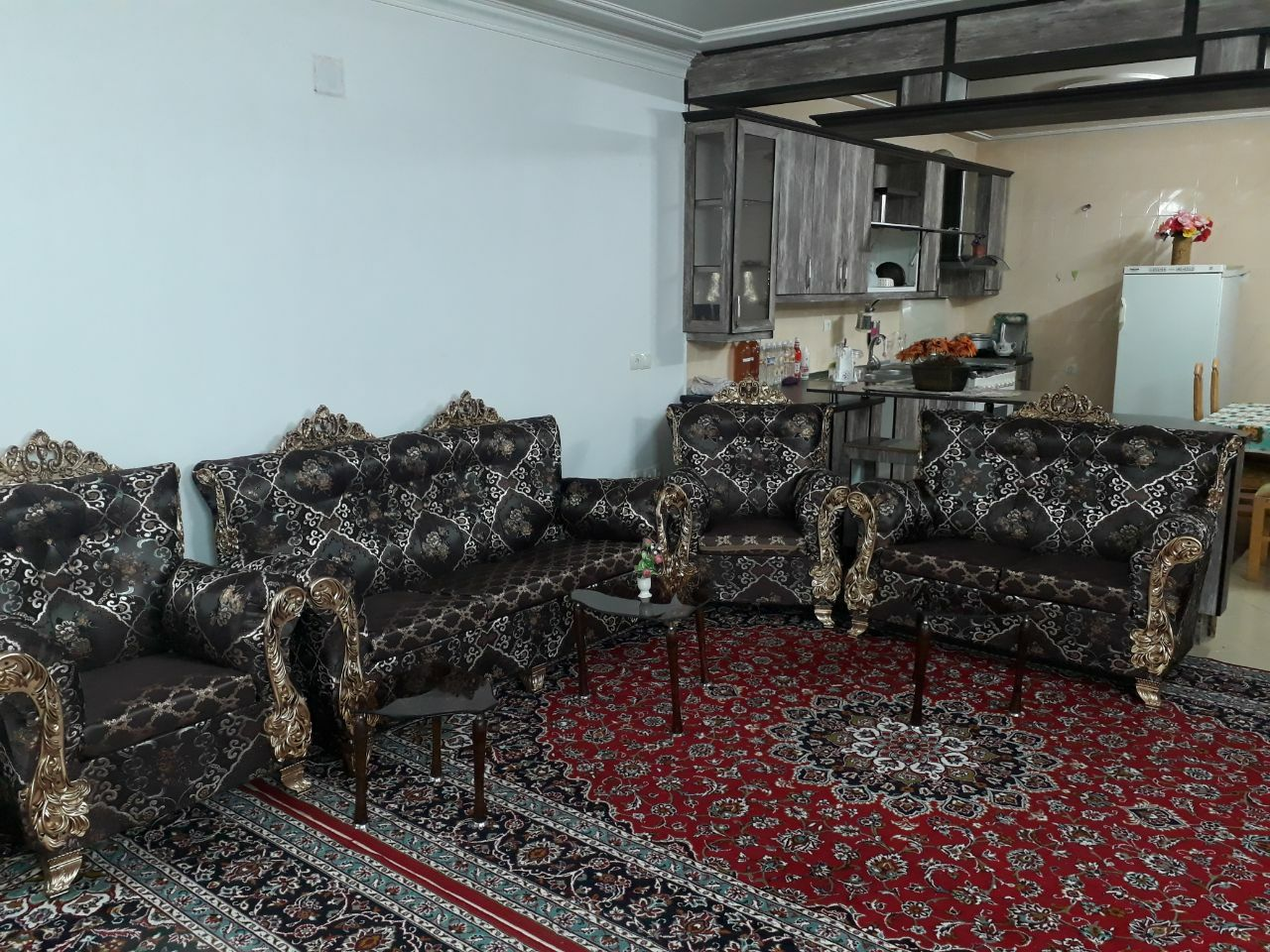 اجاره منزل مبله دو خوابه در کاشان-کد ۱۰۳